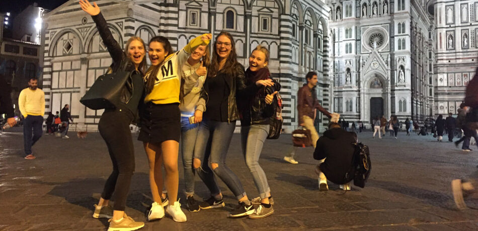 Students explore Florence!